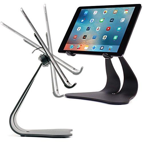 Pensado Stabile Pro soporte ajustable para iPad Pro Aire 212.910,59.7superficie Galaxy Tablet soporte giratorio negro