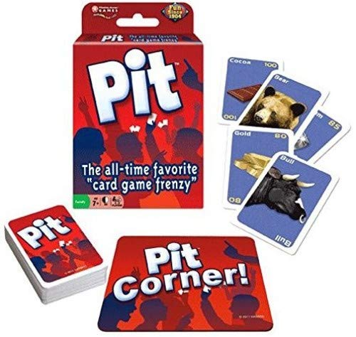 Win Moves Pit Card Game WNM1012