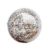 Minimei Bola del Juguete de la natación - Regalo Transparente del Water Polo de los 40cm / 30cm para los niños,