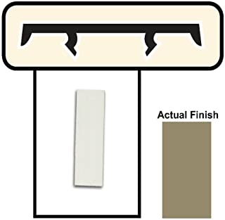 Screen Tight BRCAP18 1-1/2-Inch by 8-Feet Porch Screening System, Brown Cap