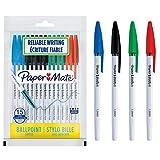 Paper Mate 045 bolígrafos - Punta mediana (1,0mm), Colores surtidos de tinta, 15unidades