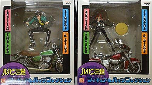 Lupine III figure bike collection Lupine Fujiko whole set of 2