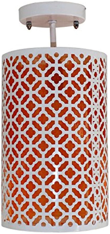 Europische Moderne Minimalistische LED Rundschreiben Decke Korridor Korridor Yang Schreibtisch Lampe Schlafzimmer Mehrfarbige Auswahl 17  33cm Chassis  12cm Lichtquelle  E14 (Farbe   rot)