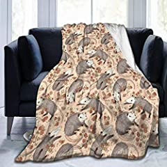 1. Material: Made Of Pilling-proof Fleece Flannel , It Is More Comfortable And Warm. The Interior Is White And The Exterior Is Printed. 2. Flannel Fleece Blanket Do Not Absorb Water And Are Light, Durable And Can Be Folded Compactly. Super Soft, Exce...