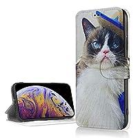 Iphone XR ケース 猫ちゃん かわいい Icカード収納 レザーケース 高級puレザー おしゃれ かわいい 軽量 便利 スタンド機能 耐衝撃 滑り防止 携帯カバー カメラ保護 傷防止 6.1インチ