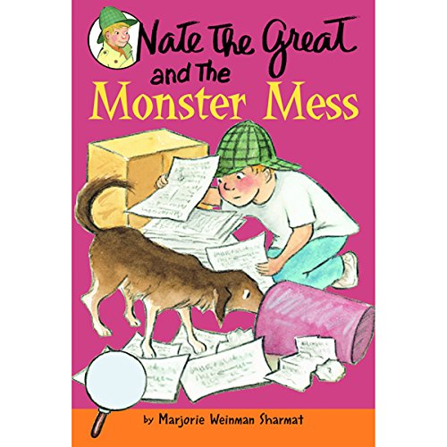 Nate the Great and the Monster Mess audiobook cover art