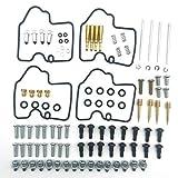 Masskko 4 Set Kit de reparación de carburador de carburador de carburador para Yamaha YZF R6 600 1999-2002
