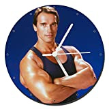 MasTazas Arnold Schwarzenegger Reloj de Pared Wall Clock 20c