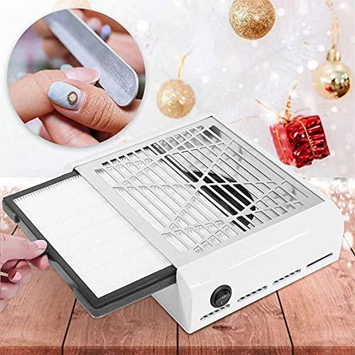 SEAAN Nagel Staubsammler, professionelle Staubsammler Maschine Staubsauger Nail Art Maniküre-Tool mit verschüttungsfreiem Filter Salon-Effekt Saug