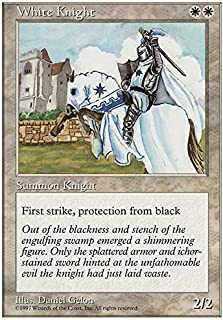 Magic The Gathering - White Knight - Fifth Edition