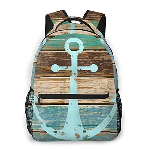 Alvaradod Mochila para portátil de viaje,anclaje en tablón de madera,mochila antirrobo resistente al agua para empresas,delgada y duradera