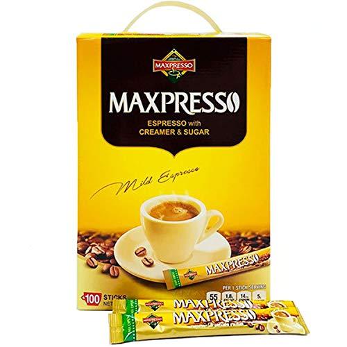 Maxpresso, 3-in-1 Korean Instant Coffee Mix, 100 Sticks