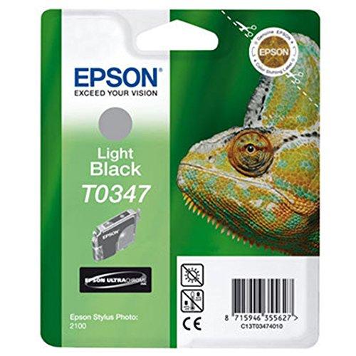 Epson T0347 Tintenpatrone Chamäleon, Singlepack hell schwarz