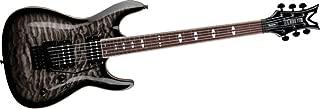 Dean Vendetta 4.0 Electric Guitar with Floyd Rose, Quilt Top, Trans Black
