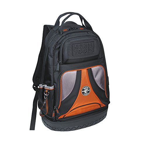 Klein Tools 55421BP-14 Tool Bag Backpack, Heavy Duty Tradesman Pro Tool...