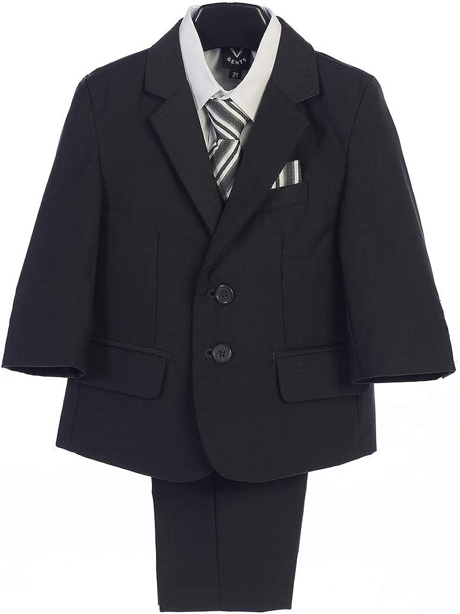 Charcoal Grey Boys Suit|,|Light Grey Toddler|,|Ring Bearer|,|Kids Gray Tuxedo|,|Communion|,|Boys' Suits|,|Trajes para Niños de Vestir