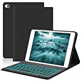 iPad Mini Keyboard Case,Compatible with iPad Mini 5/4/3/2/1,Boriyuan PU Case with Auto Sleep/Wake