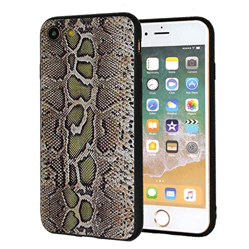 iPhone 7 Case,iPhone 8 Case,Snake Skin Pattern Slim Anti-Scratch Shockproof Leather Grain Soft TPU Back Protective Cover Case for Apple iPhone 7/iPhone 8(4.7 inch)