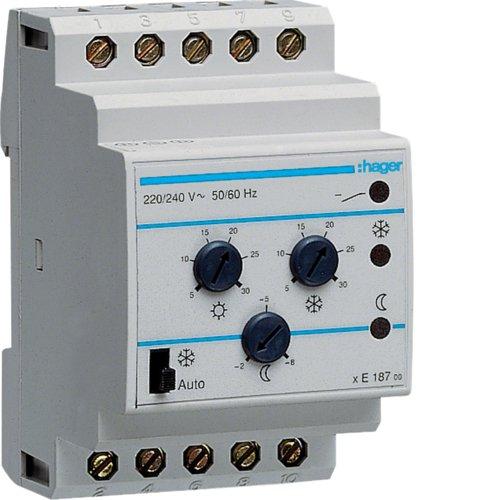 Hager EK187 thermostaat, multifunctioneel