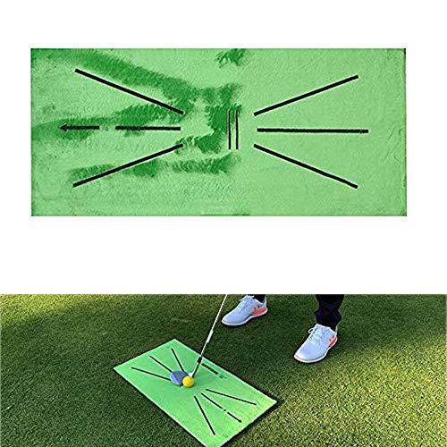 QAZWSX Alfombrilla De Entrenamiento De Golf para Detección De Swing Bateo Mini Alfombra De Entrenamiento De Golf Juego De...