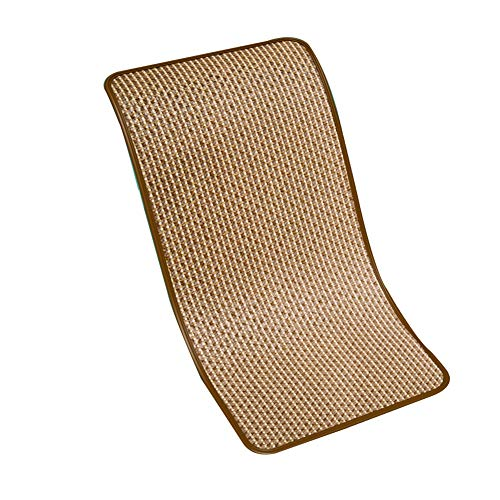 LJIANW Summer Children's Mat Double-sided Use Breathable Perspiration Smooth Comfortable Skin-friendly Children's Bed Bedroom,16size (Color : Beige, Size : 55x100cm)