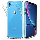 HOOMIL Trasparente Silicone Cover per iPhone XR, Clear Custodia per Apple iPhone XR Smartphone