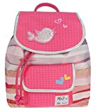 Prêt 428-7274 Pret Denimized - Mochila (32 x 28 x 14 cm), color rosa