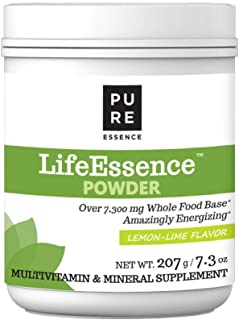 Pure Essence Labs LifeEssence Multivitamin Powder for Women and Men - Natural Herbal Supplement with Vitami...