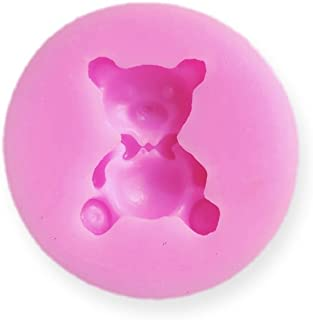 1 inch Cakepop / Cupcake Topper Teddy Bear Silicone Mold - Baking, Caking and Craft Tools from Bakell