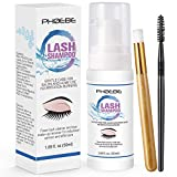 Best Lash Extensions - Eyelash Extension Cleanser Kit With Lashes Makeup Brush Review
