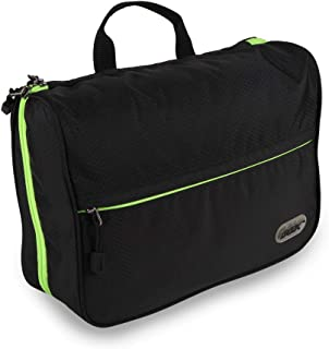 GOX Packing Cubes Travel Luggage Organizer Large Capacity Toiletry Bag for Men & Women (Black)