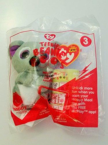 McDonald's Teenie Beanies Boo's 2017 # 3 Mel the Koala Bear TY Happy Meal Toy