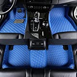 Alfombrillas Coche para Toyota Rav4 C-HR Hilux 2000-2020 Alfombrilla Impermeables para Todo Clima Antideslizantes Alfombras Coche Accesorios-Azul