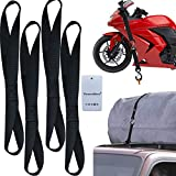 Thenewallhere Soft Loop Tie Down Straps for Motorcycle...