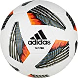 adidas Tiro Pro Soccer Ball White/Black/Team Light Blue/Silver Metallic 5