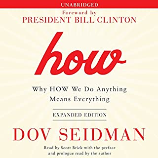 How: Why HOW We Do Anything Means Everything audiobook cover art