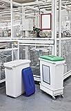 Durable Papierkörbe,Papierwannen und Zubehöre Abfallsammler DURABIN 60 – Recycled, Polypropylen, schwarz, 60 liters - 5