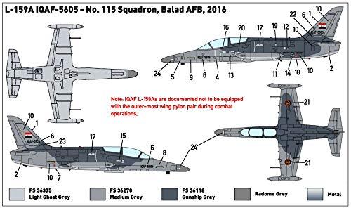 1/144 アエロ L-159A ALCA 「イラク空軍」 プラモデル