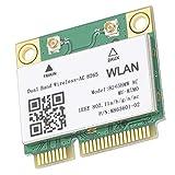 Tarjeta de Red inalámbrica, 867Mbps Mini 2.4G / 5Ghz Mini PCI-E para computadora portátil