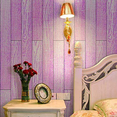 Boden-Aufkleber, Rosa Möbelfliesen-Aufkleber-Kunst-Dekor Mädchenzimmer Kinderzimmer Möbel Holzimitat Bord Tapete Wandaufkleber,20CM*500CM
