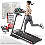 Sportstech F10 treadmill model 2020 - German Quality Brand +Video Events & Multiplayer App - NEW console - | 1HP to 10 km/h | running machine with 13 programs + foldable
