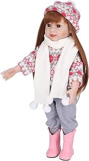 Birdfly タイプ:9302 リボーンドール 幼児 スマイル 赤ちゃん 22インチ 人形 座る 人工象 ジャンプスーツ 女の子 シリコン 本物そっくりのおもちゃ