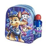CERDÁ LIFE'S LITTLE MOMENTS Botella de Agua Infantil Paw Patrol-Licencia Oficial Niceklodeon para Niños, Azul, Mochila Recomendada 3-6 años, en Edad de Preescolar