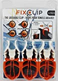 FIXCLIP - The Storm Proof & Lockable Clothespin - Keeps your towels aboard
