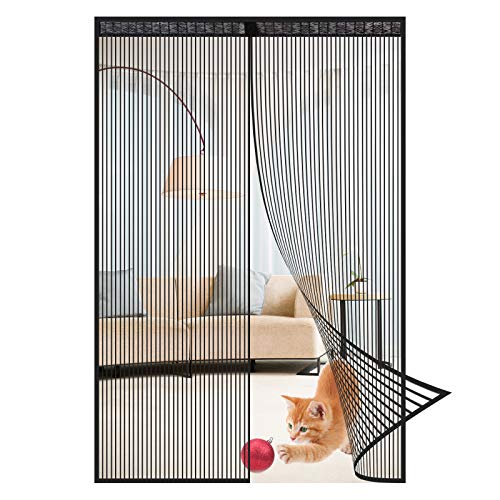 MosquiteraMagnética Cortina Antimosquitos Pantalla Magnética Suave Cifrado De La Puerta Silencio Raya Antimosquitos Partición Del Hogar Cortina Antimosquitos Autocebante