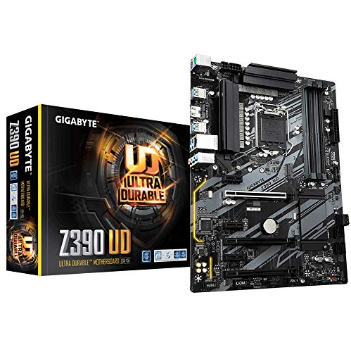 Gigabyte Z390 UD Scheda Madre, Socket LGA 1151 (Intel core Gen 8 & 9), Nero