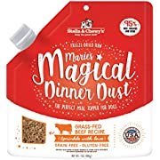 Stella & Chewy's Freeze-Dried Raw Marie's Magical Dinner Dust Grass-Fed Beef Recipe Dog Food Topper, 7 oz, Model:MDB-7