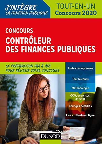 Concours Contrôleur des finances publiques - Tout-en-un - Concours 2020: Tout-en-un - Concours 2020 (2020)