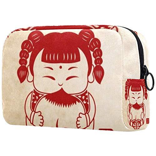 Trousse de toilette portable pour femme, sac à main, cosmétiques et voyage, longue durée
