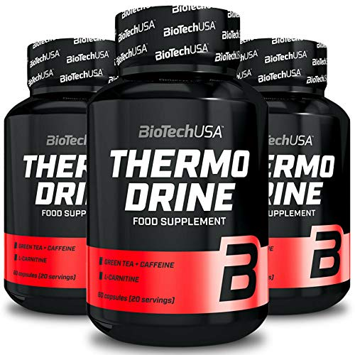 Thermo Drine   Effective Thermogenic Fat Burner   Weight Loss   Slimming Pills for Men & Women (60 Capsules)